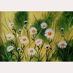 Garden flowers by Julia Whitehead