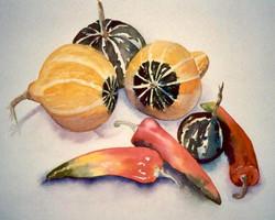 vegitables & fruit by Maureen