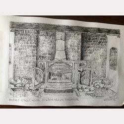 Pen interior by Maureen
