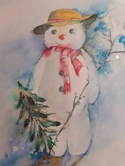 Snowman by Rachel