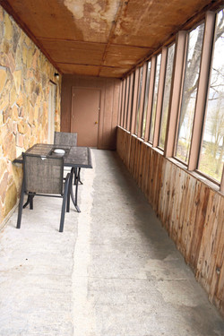 2 Story Screened in Back Porch