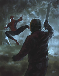 Spidey Vs Jason