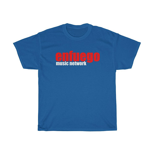 Enfuego Music Unisex Heavy Cotton Tee (Blue)