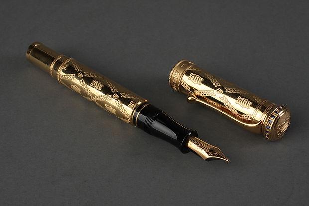 Gold Fountain Pen