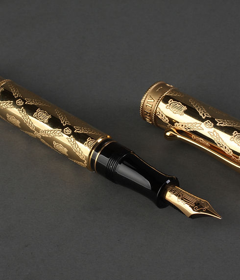 Gold Fountain Pen