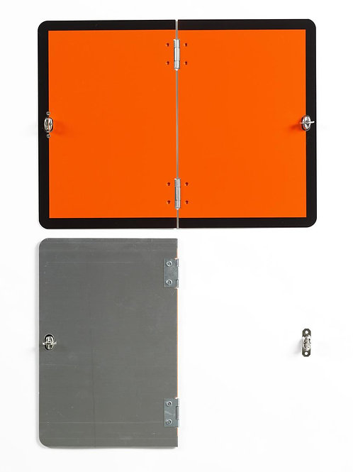 Vertically Hinged Folding Aluminium Hazchem Plate