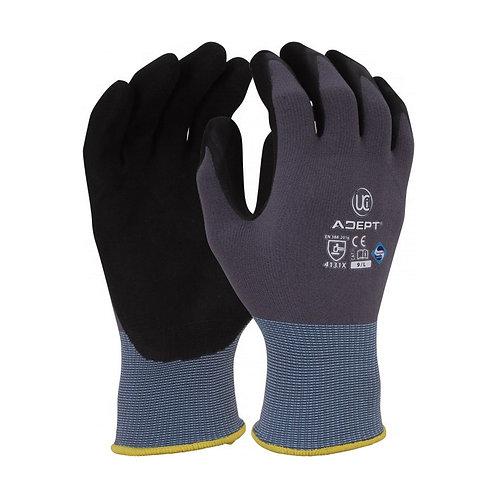 NFT® Palm Coated PU Gloves, Shell Grey