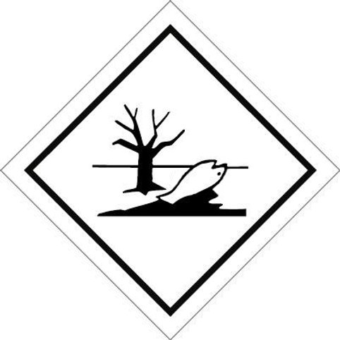Environmentally Hazardous Substance Mark - Sticker roll 100mm x 100mm