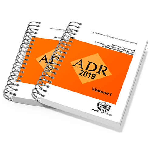 ADR Core pack, all classes (excl. 1 and 7). Includes VAT and exam fees. NO CPC