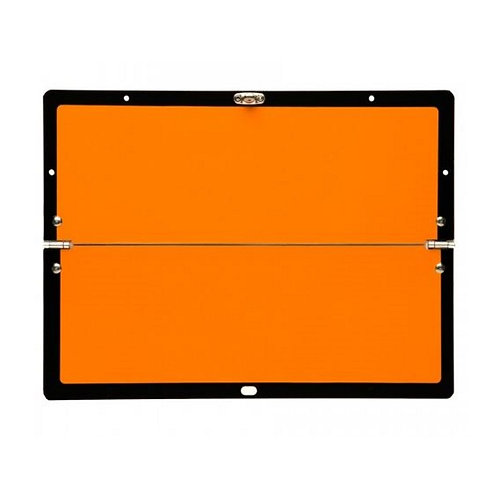 Horizontally Hinged Folding Orange ADR Plate
