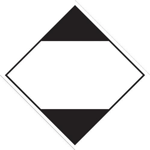 Limited Quantity Diamond - Sticker roll 100mm x 100mm