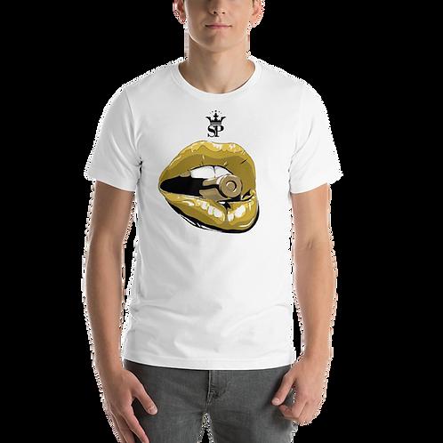 SP T-Shirt - Gold Lips