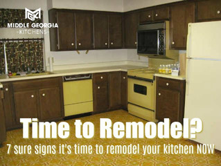 7 Sure signs it's time to remodel your kitchen now!