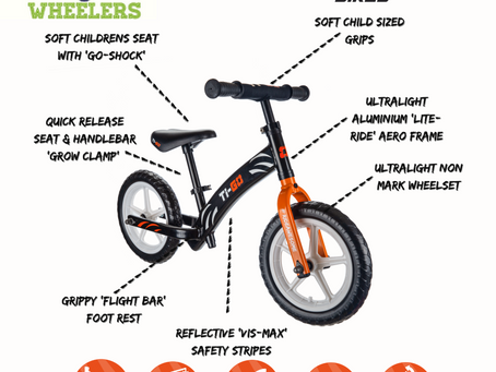 WE NOW SELL TI-GO BIKES AND ACCESSORIES...