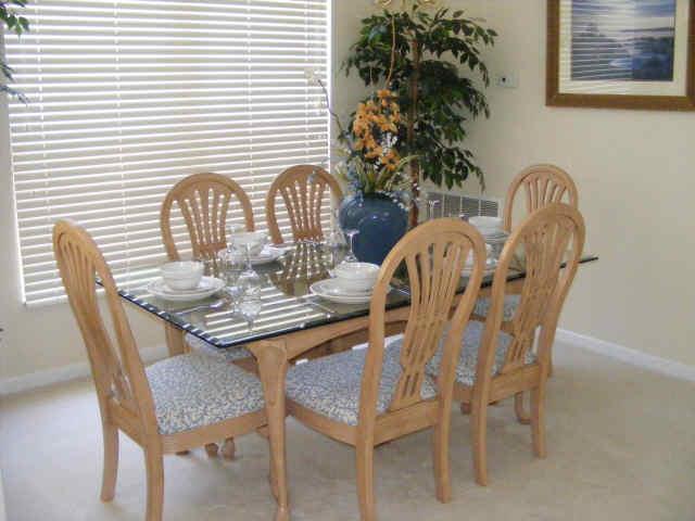 westle florida villa dining
