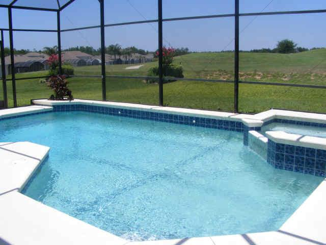 westle florida villa pool
