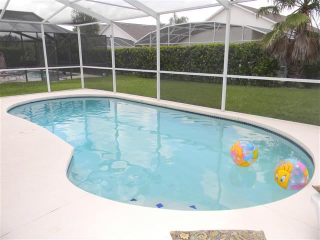 sankey florida villa pool