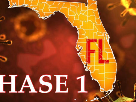 Florida's 3 Phase plan to re- open State explained