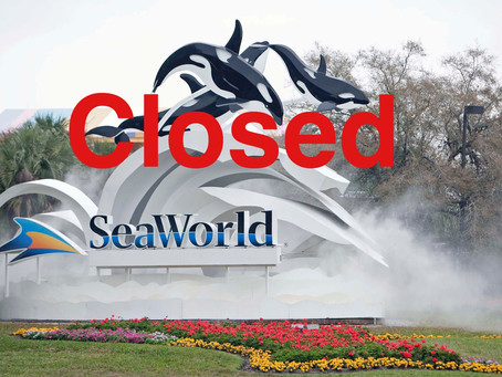 Seaworld also to close its doors..