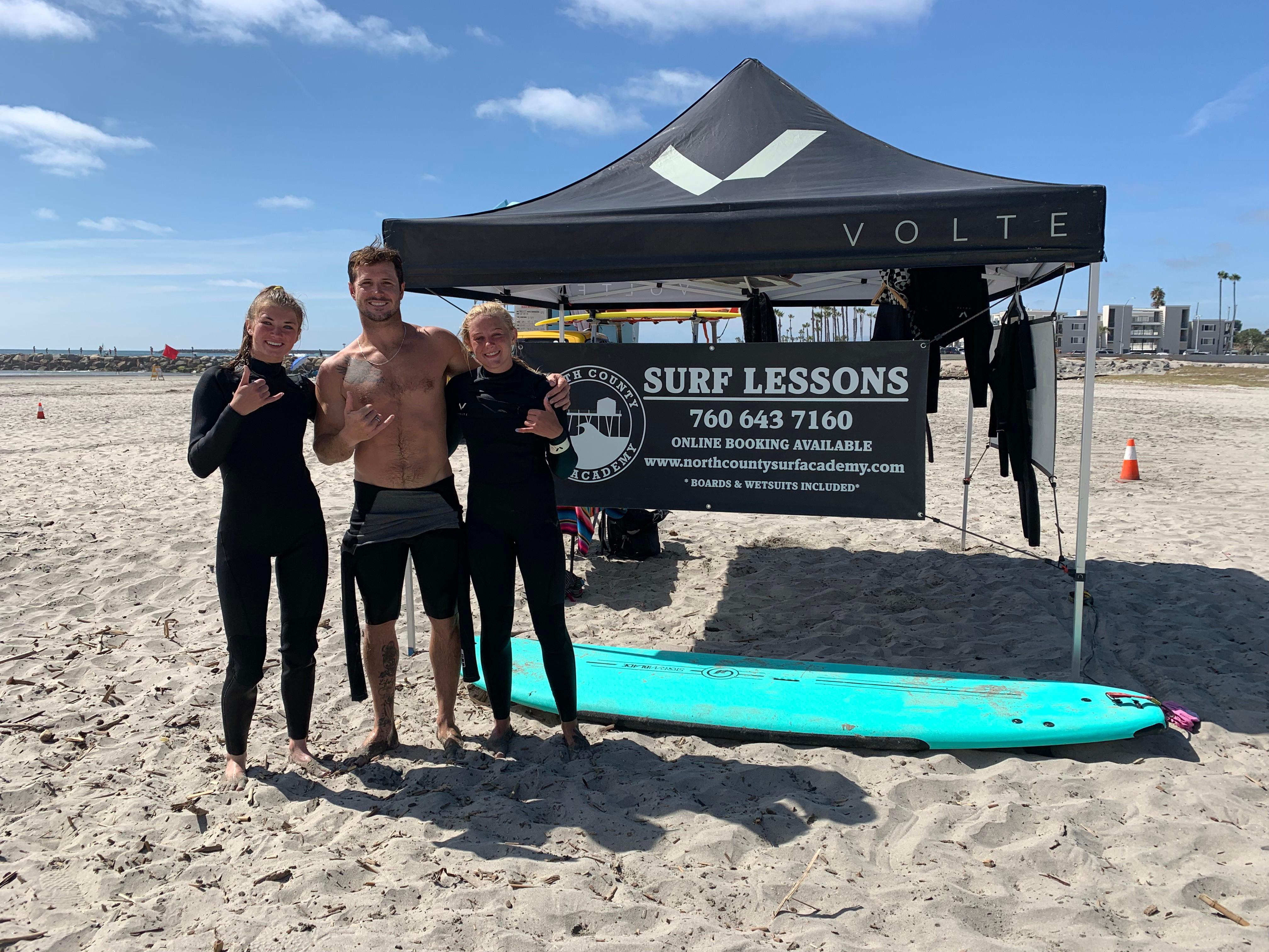 Group Lesson 2 Surfers