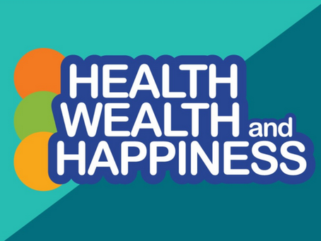 FINANCIAL WEALTH & HAPPINESS DO NOT NECESSARILY GO HAND IN HAND.