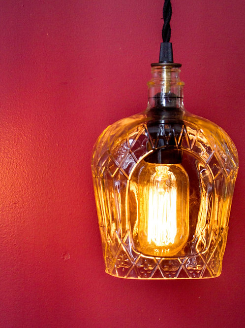 Whiskey Bottle Pendant