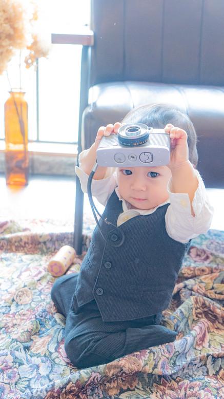 僕もカメラマン!