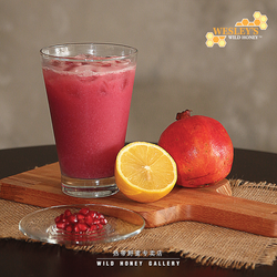 Pomegranate Lemon Juice (seasonal)