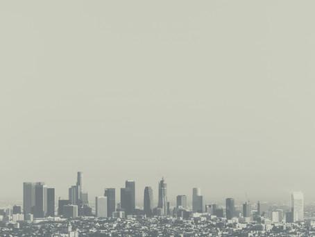 LA市とLA郡