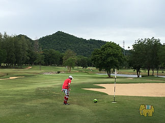 sawang thai footgolf football golf ฟุตกอล์ฟ