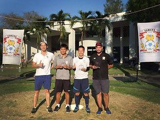 Foogolf Thailand Sawang Footgolf Football Golf Huahin activity