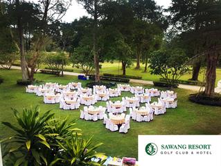 สถานที่จัดประชุม @ Sawang Resort เขาย้อย