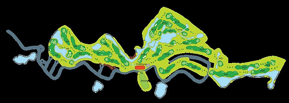 sawang resort サワン・リゾートゴルフクラブ&ホテルは日本人設計家、勝俣氏の監修による本格的なチャンピオンシップの18ホールのゴルフコースです。ゴルフコースは、バンコクより4号線でチャアムに向う手前のペッブリーのゆったりとした自然の中に造られており、起伏もある、変化に富んだ戦略的なホールが数多くレイアウトされているゴルフコースです。
