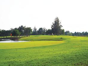 Sawang Resort Hole 4 Thailan Golf Huahin