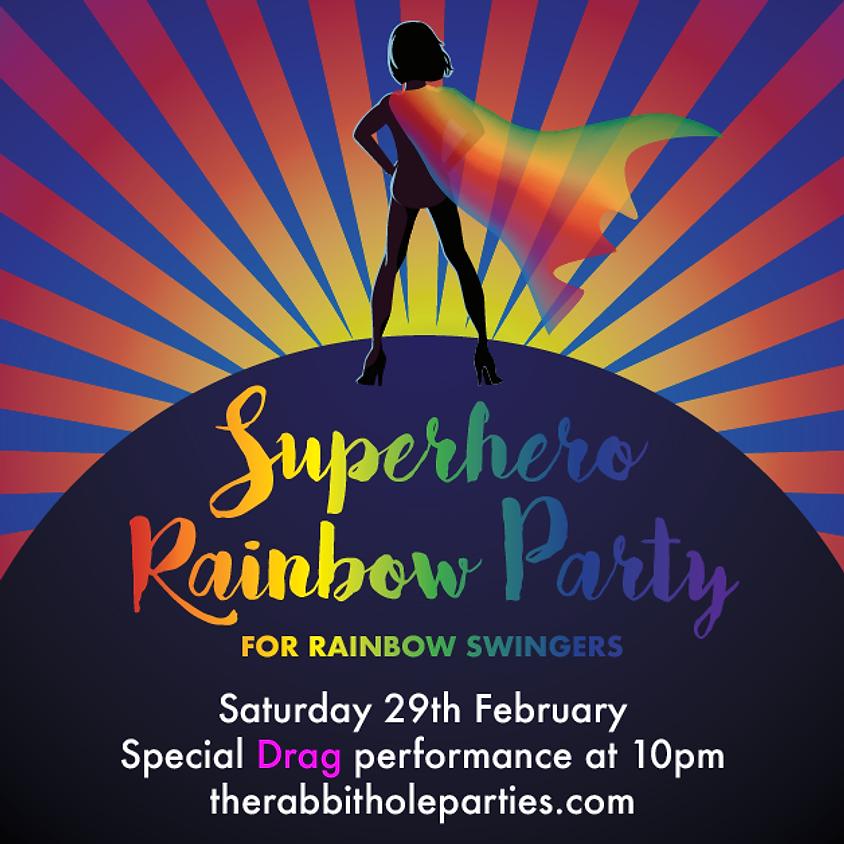 Super Hero Rainbow Party