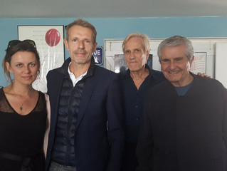 Randal Kleiser, Lambert Wilson and Claude Lelouch ... OUT OF THE BLUE