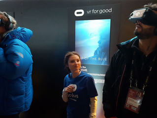 OUT OF THE BLUE at Sundance festival