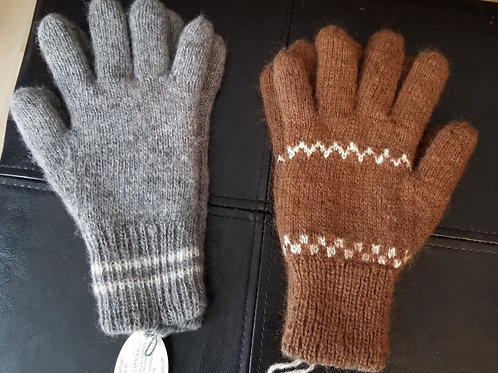 Handmade double thickness reversible gloves