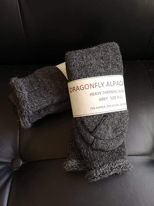 Heavy Thermal Alpaca Socks