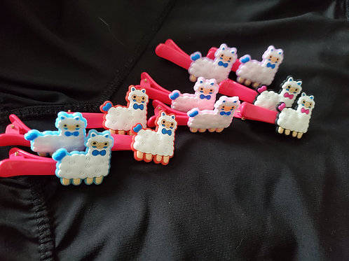 Hair clips (set of 2)