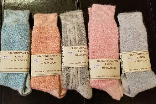 Alpaca Socks Mixed Blend
