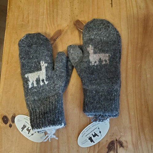 Children's mittens size 7 and up