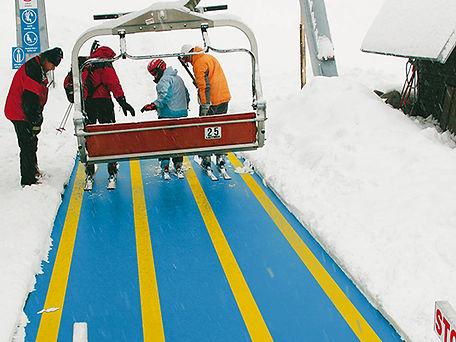 Ski areál