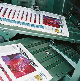 Novinový tisk
