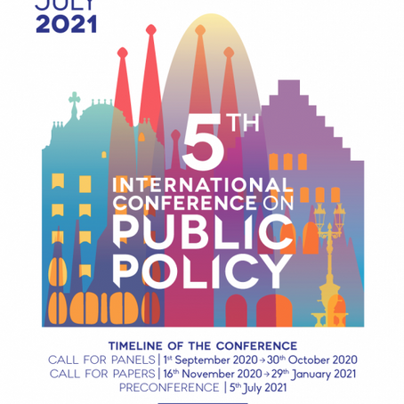 LAP2D na V ICPP - International Conference on Public Policy