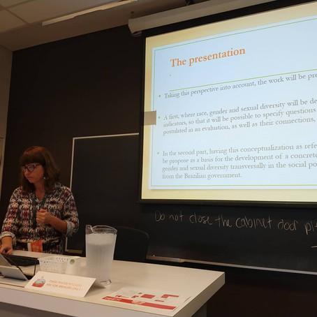 Painel em Governança Intersetorial com a População na IV International Conference on Public Policy