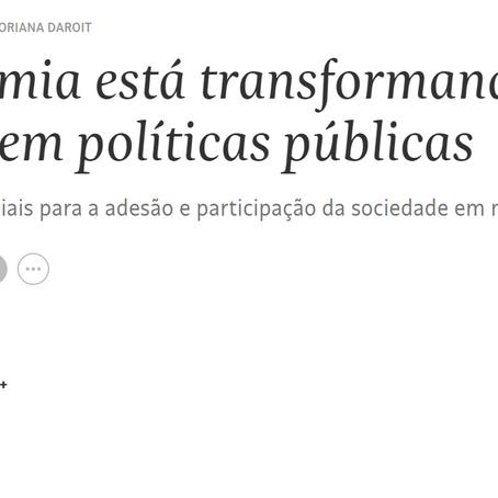 [LAP2D Recomenda] Artigo sobre debates públicos e incidência em políticas