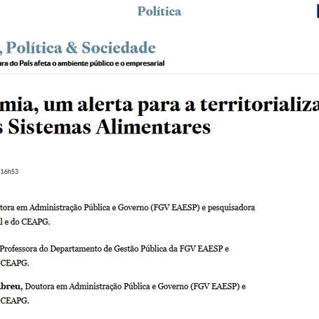 [LAP2D Recomenda] Artigo sobre agricultura urbana em tempos de pandemia