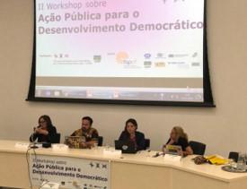 RETROSPECTIVA 2019:  II Workshop sobre Ação Pública para o Desenvolvimento Democrático
