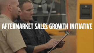 VolvoCE Aftermarket Sales Growth Initiative